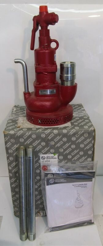 """Chicago Pneumatic T0222224, CP 0010 Pneumatic Sump Pump, 2"""" Discharge Outlet"""