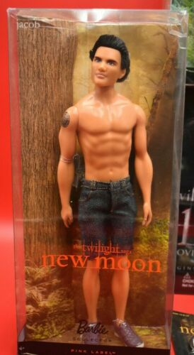 Twilight Saga ~ Pink Label ~ Jacob ~ Barbie ~ New In Slightly Damaged Box ~ Doll