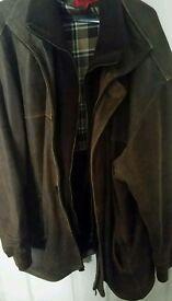Real Leather mens jacket XXXl, 3XL