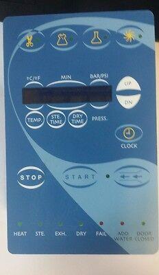 New Tuttnauer Sterilizer Digital Board Predg Wkeypad E Ea Ez10 Ez9 Lctp201-0133