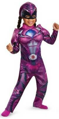 Disguise Toddler Girls Pink Power Rangers 2 Pc Muscle Halloween Costume-sz 2T](Pink Power Ranger Costume Toddler)
