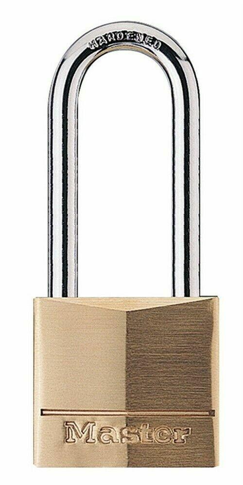Master Lock 140DLH Padlock - Keyed Different - Solid Brass B