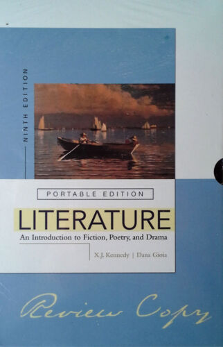 LITERATURE - INTRODUCTION TO FICTION, POETRY, DRAMA - (4) PAPERBACK SET - SEALED