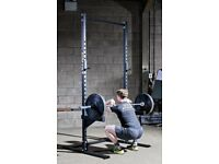 Solid athletix galvanised & powder coated squat rack