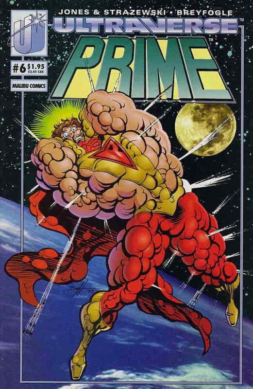 Prime (Vol. 1) #6 VF/NM; Malibu   save on shipping - details inside