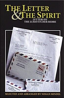 THE LETTER & THE SPIRIT, Volume 5, Letters By The Lubavitcher Rebbe
