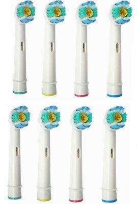 8stk Ersatzzahnbürsten für Oral B 3D White Pro Bright Aufsteckbürsten