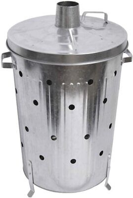FIRE INCINERATOR 90L Fast Burner Holes All The Way Up or Paper & Garden Rubbish