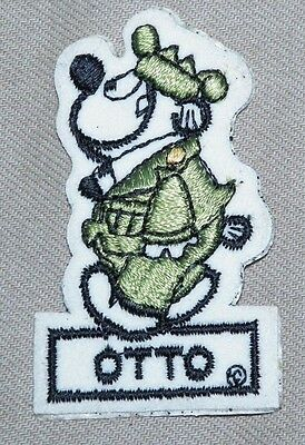 Otto Beetle Bailey Cartoon vintage patch  Character- SUPER RARE & (Otto Cartoon Character)