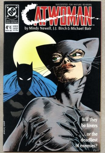 Catwoman #4-1989 nm- 1st Catwoman series Batman Mindy Newell