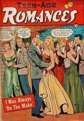 Teen-Age Romances #19 Photocopy Comic Book, Matt Baker Art