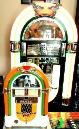 ELVIS PRESLEY - CROSLEY Bubbler Jukebox - Plays CD