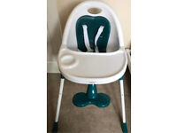 MAMAS&PAPAS HIGH CHAIR LOW AND HIGH EXCELLENT CONDITION