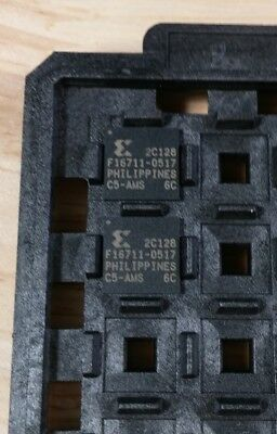 Xilinx Xc2c128-6cp132c Coolrunner-ii Cpld 128 Macrocell 250mhz 132 Pin Bga