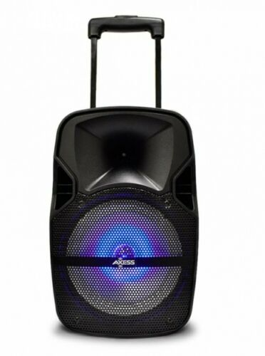 party speaker 8 with led light rechargeable