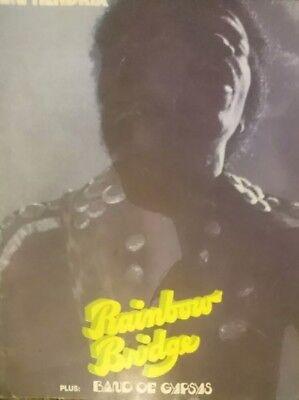Jimi Hendrix 1970s music Book by A SCHRORDER MUSIC PUB, RARE first books printed