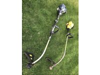2x Petrol Strimmers (for parts or repair)