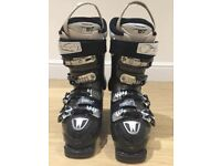 Women's black Atomic Hawx 80 ski boots