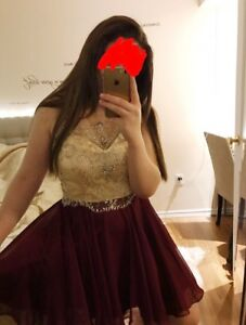 Prom Dress Alyce- Burgundy