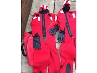 2 Universal Immersion Suits