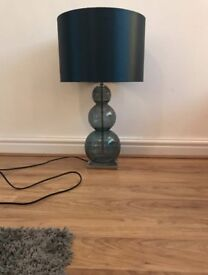 Next Table Lamp Teal