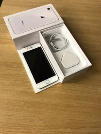 Months old apple iPhone 8 64gb in gold unlocked