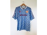 Retro Vintage Football Shirt Soccer Jersey Top Arsenal Chelsea Liverpool Man United Tottenham City