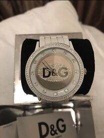 D&G White Watch