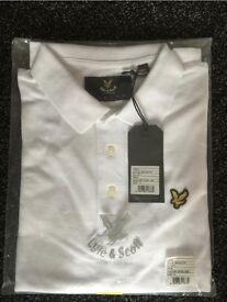 White Lyle & Scott Polo Shirt