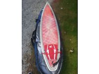 6ft3 surfboard