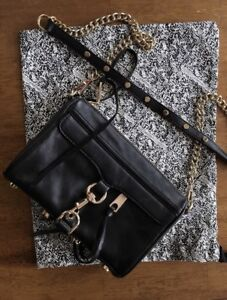 *NEW* Rebecca Minkoff Mini M.A.C. Leather Crossbody Purse