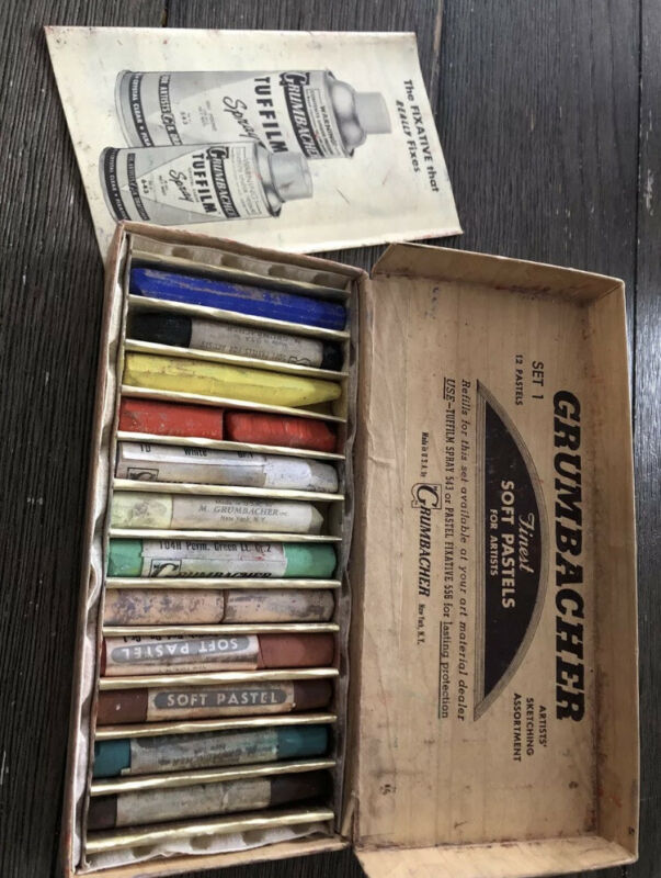 Vintage Grumbacher Soft Pastels