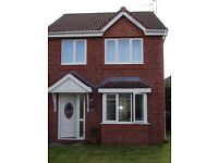 double room to rent in a semi detached new build house