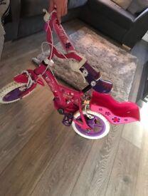 Children's girls kids bike