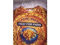 Pray for Paris unisex t shirt