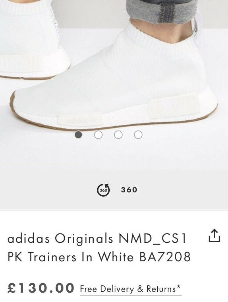 adidas originals nmd cs1 in uddingston, glasgow gumtree