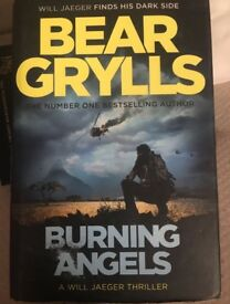 Bear Grylls- Burning Angels £5 ONO