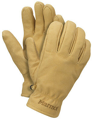 New Marmot Basic Work Mens Glove Driclime 1677 Color Tan Size Small