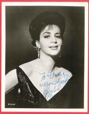 Autographed ROSALIND ELIAS Mezzo-Soprano Metropolitan Opera Association Photo