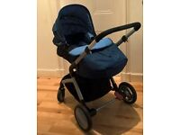 Open to offers - 3 in 1 Pram/Pushchair/Carseat with Isofix base (excellent condition)