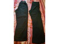 2 X maternity trousers
