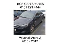 Vauxhall Astra Black. Bonnet. Breaking spares parts