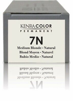 Kenra Color Permanent 7N Medium Blonde-natural Hair Color 85g Tube