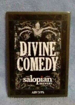 Salopian Divine Comedy pump clip front