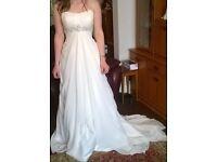 Beautiful brand new wedding dress.