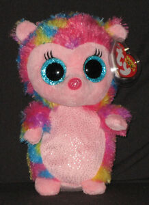 TY BEANIE BOOS - HOLLY the HEDGEHOG (JUSTICE STORE) - MINT with MINT TAGS