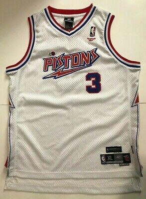 NBA VINTAGE HARDWOOD CLASSICS 1978-81 DETROIT PISTONS #3 Ben Wallace JERSEY XL