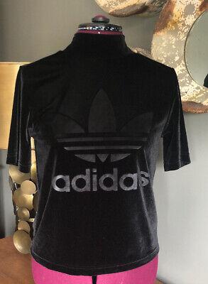Adidas Velour Polo Beck Tee Shirt