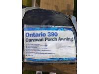 Ontario 390 caravan porch awning