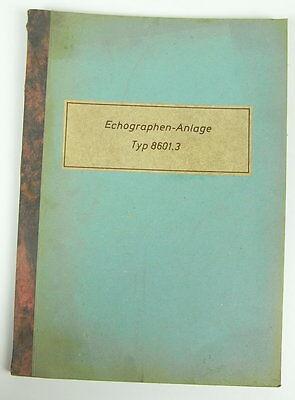 Echographen-Anlage Typ 8601.3